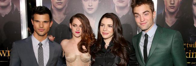Kristen Stewart, Robert Pattinson y Taylor Lautner estrenan 'Amanecer: Parte 2' en Los Ángeles