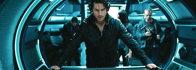 Tom Cruise en 'Misión imposible'