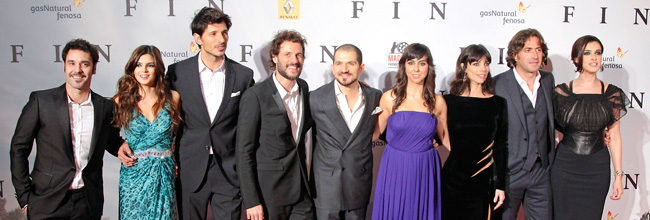 Maribel Verdú, Daniel Grao, Clara Lago, Andrés Velencoso y Carmen Ruiz asisten a la premiere de 'Fin' en Madrid