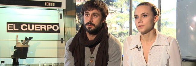 Hugo Silva y Aura Garrido durante la entrevista con eCartelera