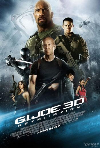 El nuevo póster de 'G.I. Joe: La venganza' le cede el protagonismo a Bruce Willis y Dwayne Johnson