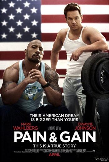 Primer póster de 'Pain and Gain', la nueva película de Michael Bay