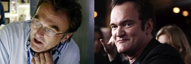 Danny Boyle y Quentin Tarantino