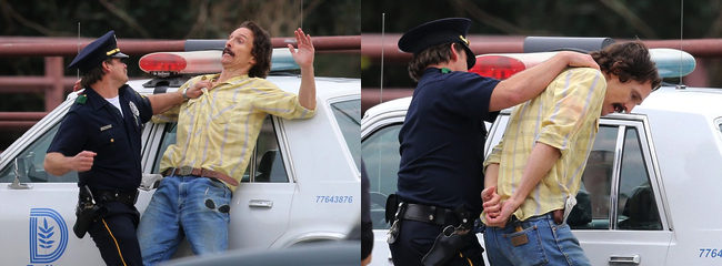 Matthew McConaughey policía Dallas Buyers Club