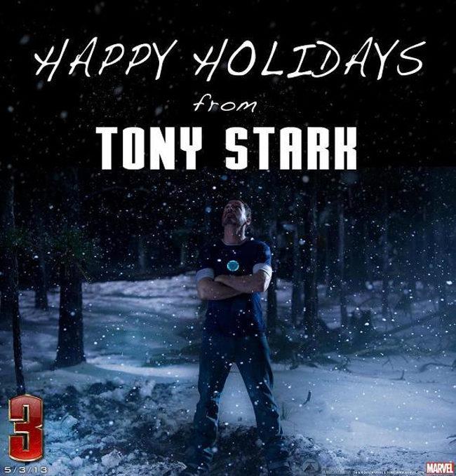 Felicitación Iron Man Tony Stark