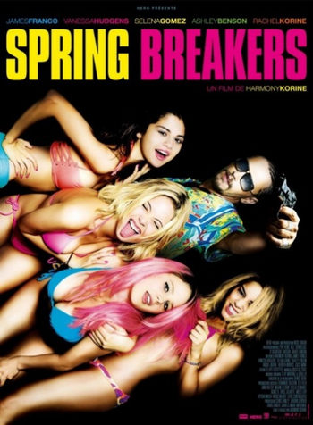 Póster 'Spring Breakers'