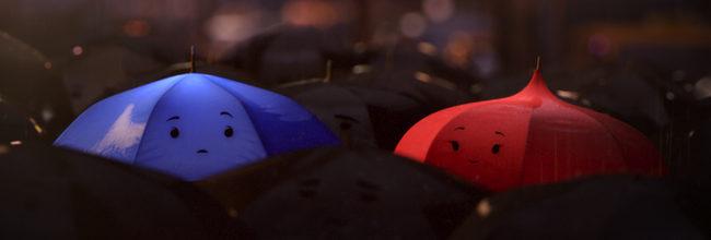 'The Blue Umbrella'