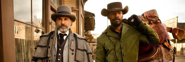 Christoph Waltz y Jamie Foxx en 'Django Desencandenado'