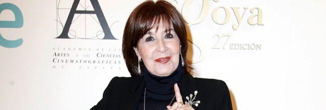 Concha Velasco en la rueda de prensa por su Goya de Honor 2013