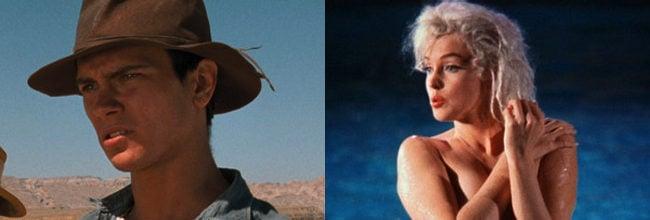 River Phoenix y Marilyn Monroe