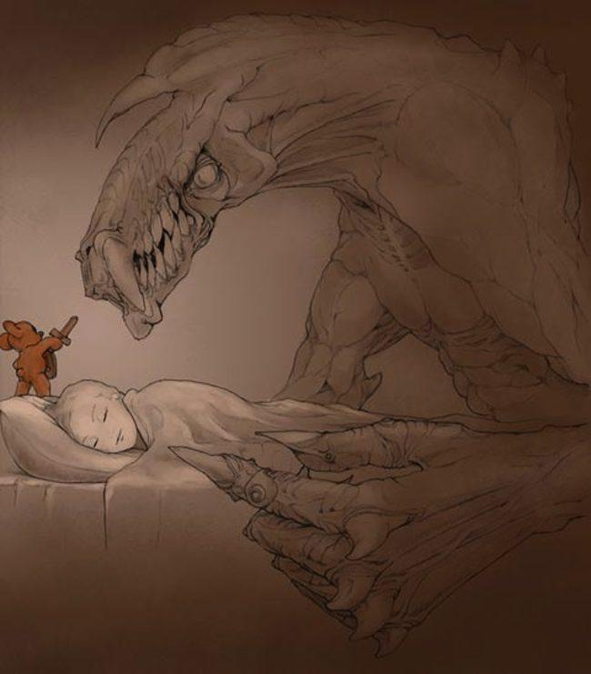 Boceto de los osos de peluche de Dwayne Johnson