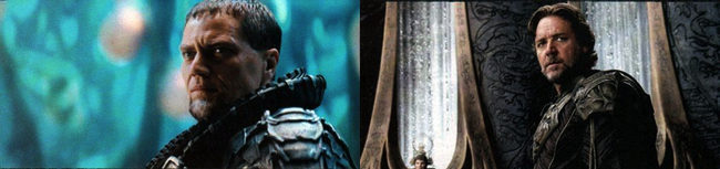 El General Zod y Jor-El