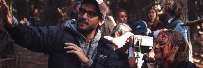 Fede Alvarez en el rodaje de 'Posesión infernal: Evil Dead'