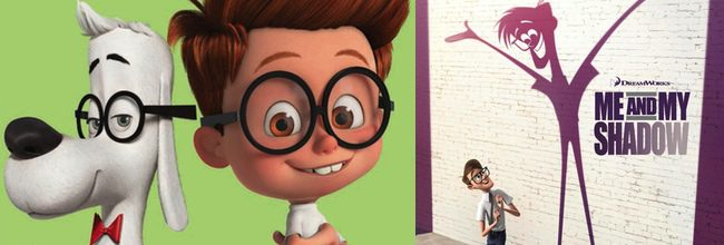 Mr. Peabody and Sherman y Me and My Shadow