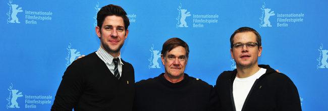 John Krasinski, Gus Van Sant y Matt Damon