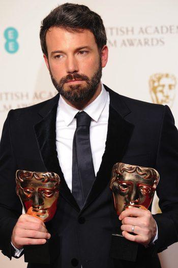 Ben Affleck en los BAFTA 2013