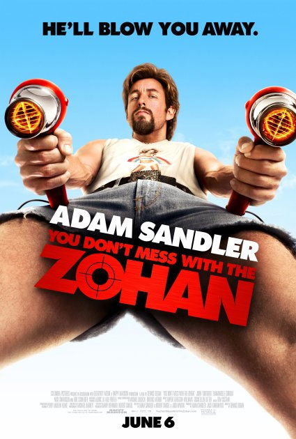 Cartel de 'You Don't Mess with the Zohan'