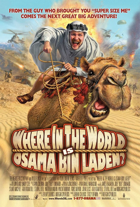 Nuevo cartel de 'Where in the world is Osama Bin Laden?'