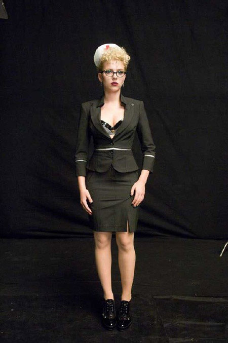 Un vistazo a Scarlett Johansson en 'The Spirit'