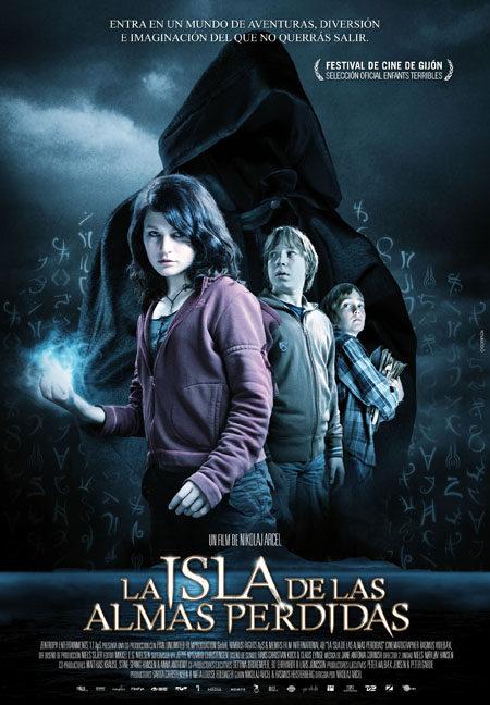 Póster en español de 'La isla de las almas perdidas'