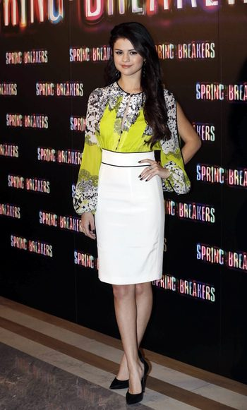 Selena Gomez en Madrid