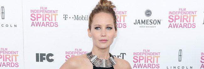 Jennifer Lawrence en los Independent Spirit Awards 2013