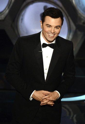 Seth MacFarlane en los Oscar 2013