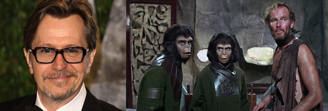 Gary Oldman 'El amanecer del planeta de los simios'