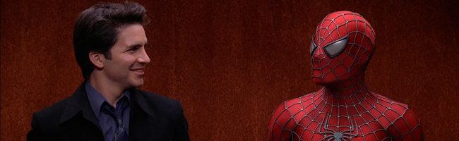 Spider-Man en el ascensor