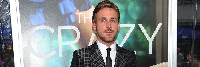 Ryan Gosling en la premiere de Crazy