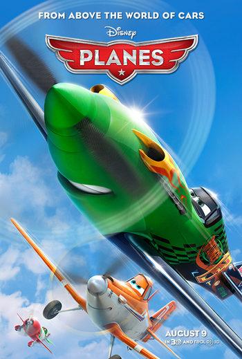 Póster de 'Planes'