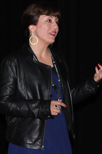 Carolina Astudillo Muñoz, directora de 'Lo indecible'