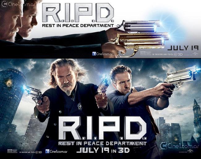 'R.I.P.D. Departamento de Policía Mortal'