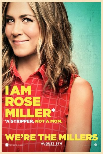 Póster individual de Jennifer Aniston de 'We're the Millers'