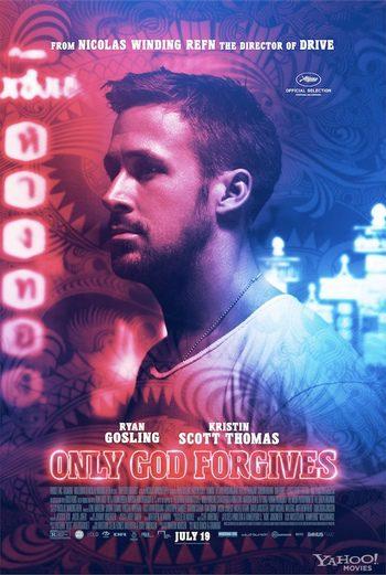 Póster individual de Ryan Gosling en 'Only God Forgiven'