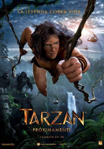 Póster y tráiler en español en exclusiva de 'Tarzán 3D' en CGI