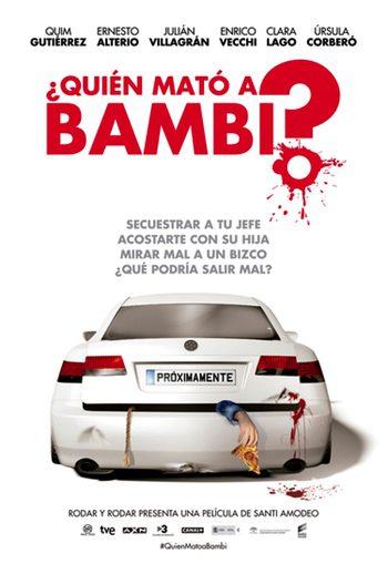 Teaser póster de '¿Quién mató a Bambi?'