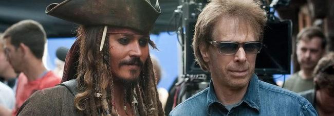 Johnny Depp y Jerry Bruckheimer