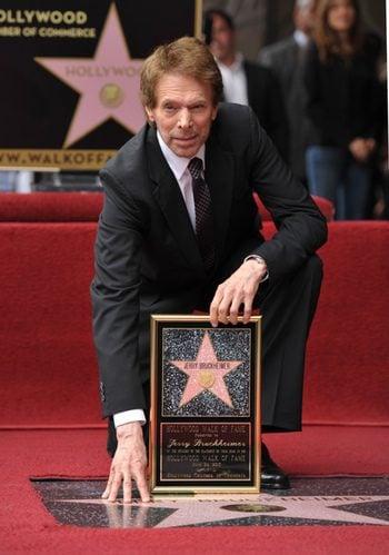 Jerry Bruckheimer recibe su estrella en el Paseo de la Fama
