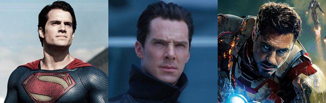 'Iron Man 3', 'Star Trek: En la oscuridad' y 'El Hombre de Acero'