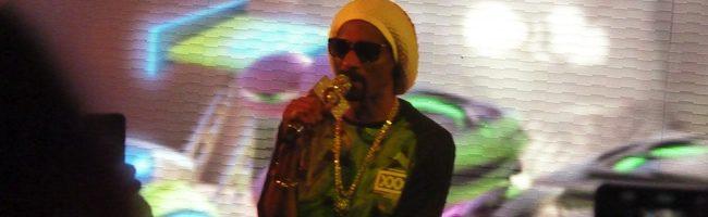 Snoop Dog en la presentación de 'Turbo' en Barcelona