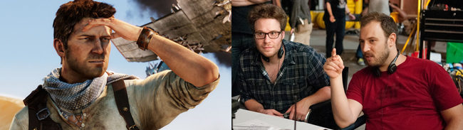 'Uncharted' y Seth Rogen y Evan Goldberg