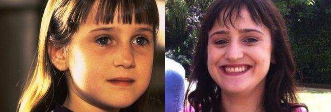 Mara Wilson antes y ahora