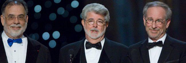 George Lucas presentando el premio al Mejor Director