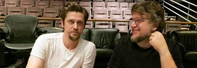 Andy Muschietti y Guillermo del Toro
