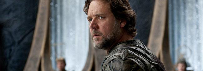 Russell Crowe contesta en Twitter sobre una posible precuela de 'El Hombre de Acero'