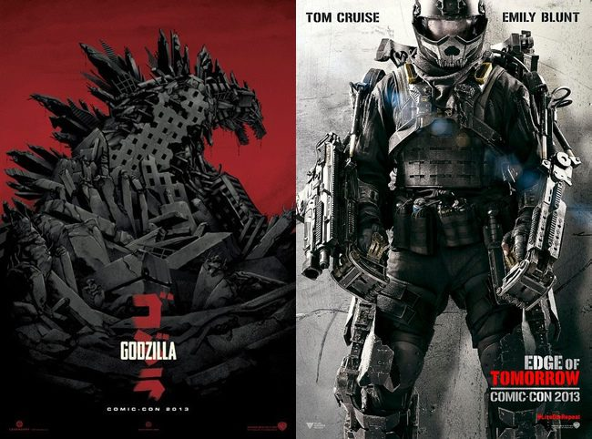 'Godzilla' - 'Edge of Tomorrow'