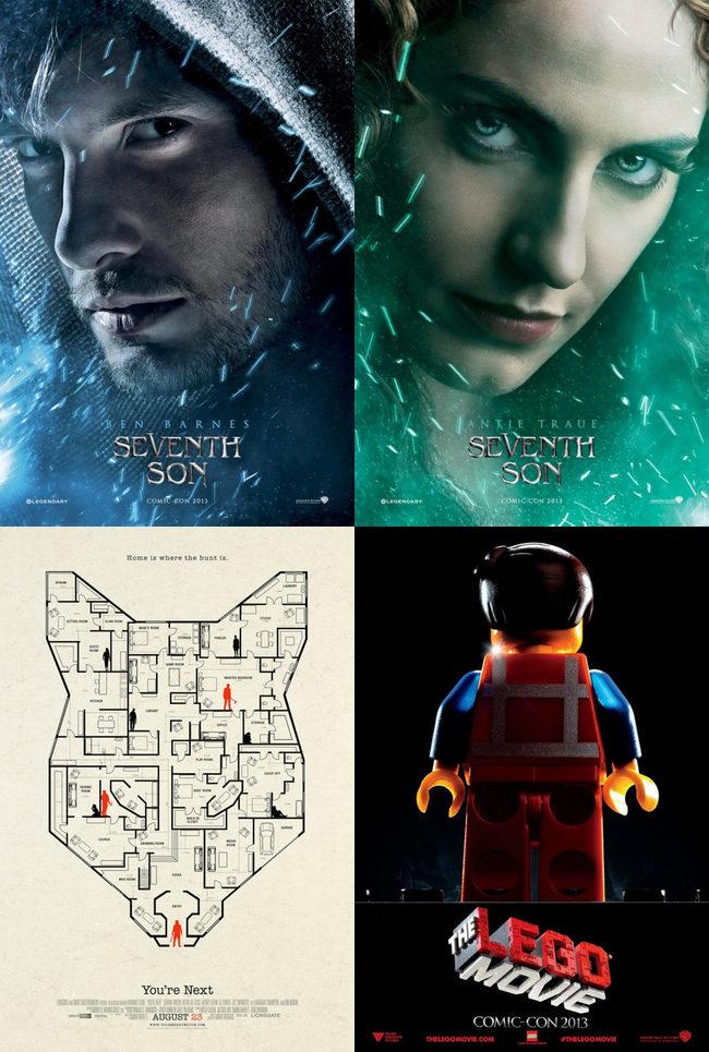 'El séptimo hijo', 'You're de Next' y 'La LEGO película'
