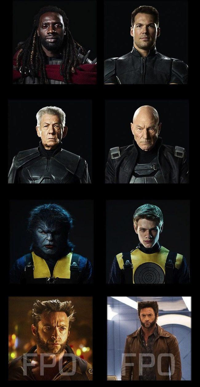 Retratos X-Men: Days of Future Past