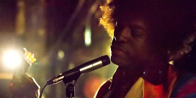 André Benjamin como Jimi Hendrix en 'All Is By My Side'